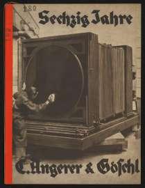 Umschlag von C. Angerer & Göschl Wien Sechzig Jahre, 1932