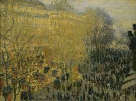 Claude Monet Der Boulevard des Capucines, 1873