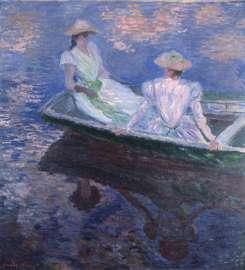 Claude Monet Junge Mädchen im Boot, 1887