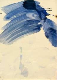 Max Weiler: als alle Dinge Blau