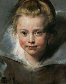 Peter Paul Rubens Porträt der Clara Serena Rubens, der Tochter des Künstlers (1611–1623), um 1616 Öl auf Leinwand auf Holz