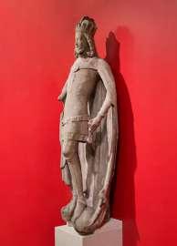 die Förstenfigur des Rudolf des Stifters vom Stephansdom