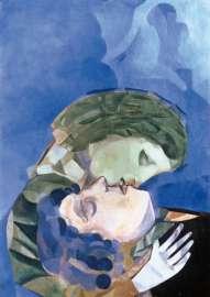 Marc Chagall, Les amoureux, 1916