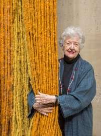 Porträt Sheila Hicks, 2018 Musée Carnavalet, Paris