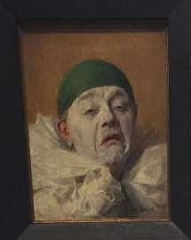 Armand François Joseph Henrion: Selbstportrait als Pierrot