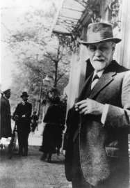 Sigmund Freud 1920 in Den Haag