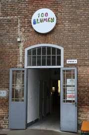 Eingang 100 Blumen Brauerei