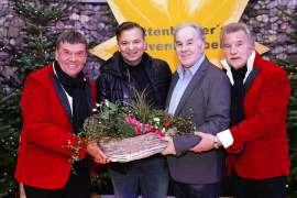v.l.n.r. Reinhard Kittenberger, Markus Wolfahrt, Walter Schwanzer, Rudi Murth