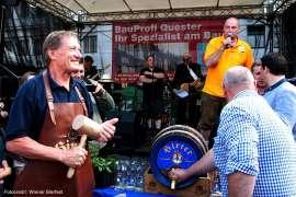 Hirter-Bier Anstich am Hof beim Wiener Bierfest