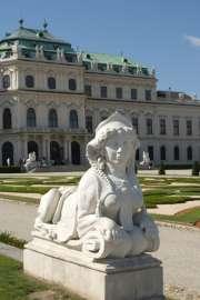 Blick auf das Obere Belvedere