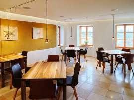 Das Restaurant Josefs Himmelreich, Innenansicht