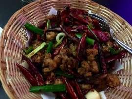 China Kitchen: Chili-Huhn nach Chongqing-Art