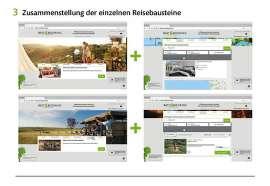 Screenshot individuelle Zusammenstellung von Modulen