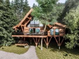 Baumhaus im Grüne, Aussenansicht