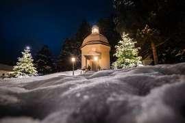 Stille Nacht Kapelle 2013 im Schnee