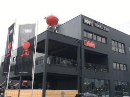 Pulse im neuen Weber Original Store Brunn