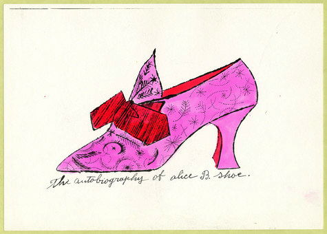 Andy Warhol: The Autobiography of Alice B. Shoe, ca 1951