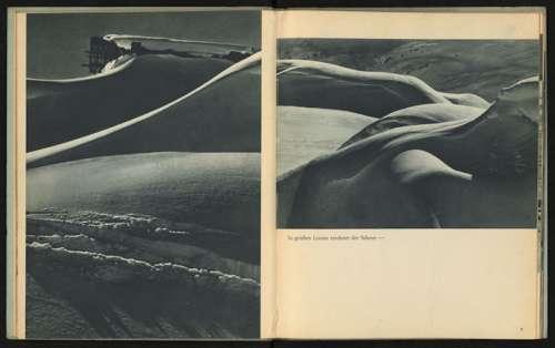 Stefan Kruckenhauser In großen Linien zeichnet der Schnee, Aus: Du schöner Winter in Tirol. Ski- und Hochgebirgs-Erlebnisse mit der Leica, Berlin: Photokino-Verlag, Otto Elsner, 1937