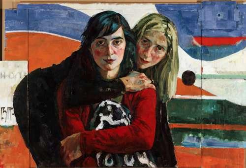 Xenia Hausner Adler und Engel, 2005