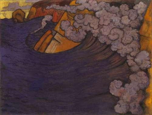 Georges Lacombe - Die violette Woge, 1896/97