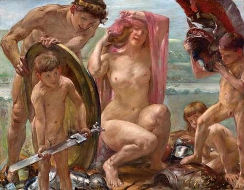 Lovis Corinth, Die Waffen des Mars, 1910