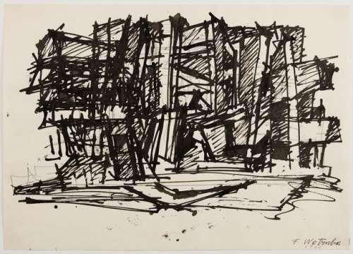 Fritz Wotruba, Skizze zu einer Architektur, 1966