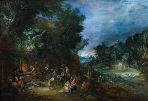 Johann Jakob Hartmann, Das Feuer