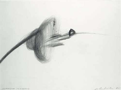 Gerhard Ru?hm: motorische meditation, 1985