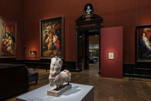 Ausstellungsansicht Rubens