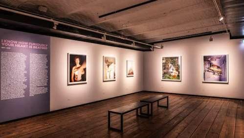 Ausstellungsansicht Alec Soth. Photography Is A Language