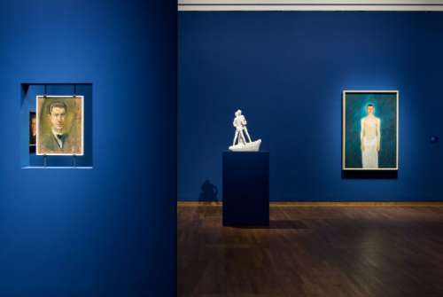 Ausstellungsansicht RICHARD GERSTL INSPIRATION – VERMÄCHTNIS Leopold Museum, Wien