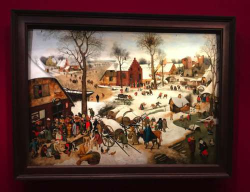 Jan Brueghel der Ältere, Volkszählung von Bethlehem