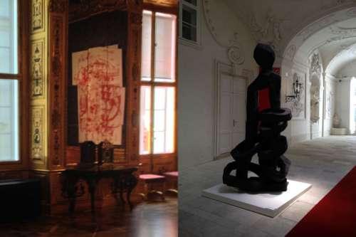 Ausstellungsansicht: Love Story, Winterpalais d.Pr.Eugen