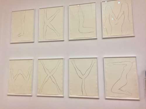 Ausstellungsansicht: Gerhard Rühm