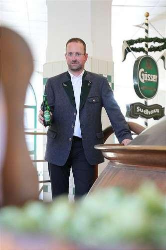 Braumiester Markus Baumann ist stolz auf die innovative Geschmacksvielflt von Gösser Bier