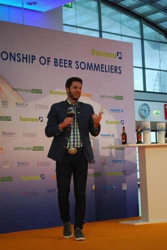 Der Biersommelier Vize-Weltmeister 2017 aus Österreich: Felix Schiffner