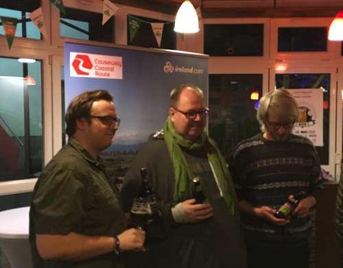 Die Organisatoren des Craft Bier Fest 2018 bei der Pressekonferenz beim RIesenrad