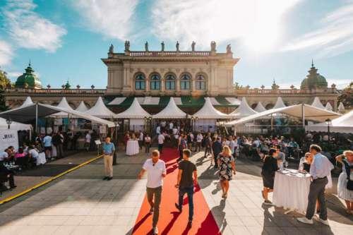 Der Kursalon Hübner in Wien verwandelt sich für zwei Tage zu einer Pilgerstätte des guten Geschmacks