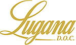 Lugana DOC Schriftzug in gold