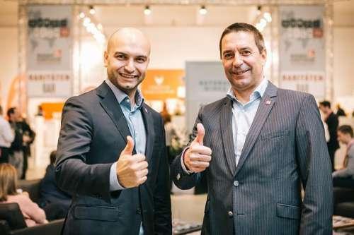 Paul Truszkowski, Wolfgang Frühbauer (beide Geschäftsführer WEIN & CO)