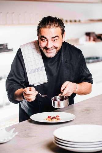 Juan Amador's Beurre Blanc mit Kaviar