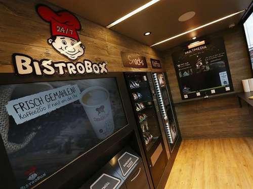 Innenansicht der neuen BistroBox in Bad Hall