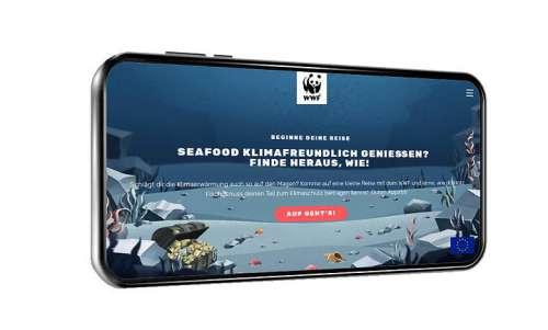 Screenshot: Der WWF