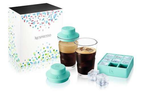 Nespresso On Ice_Shaker & Eiswürfelform
