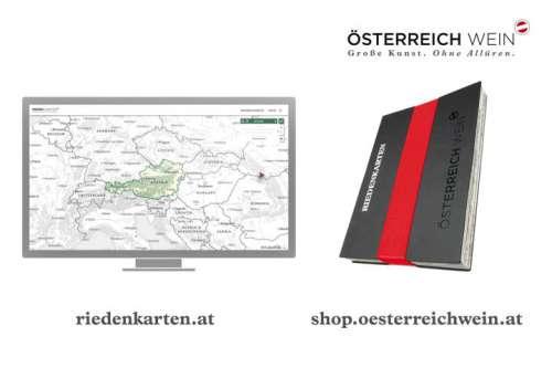 Die Riedenkarten gibt es sowohl digital als kostenlose Onlineversion, als auch auf Papier, im ÖWM Shop online zu bestellen.