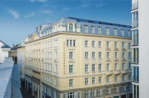 Aussenansicht des Steigenberger Hotel Herrenhof
