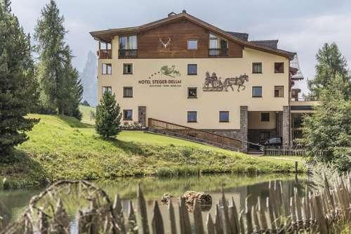 Aussenansicht des Hotel Steger-Dellai