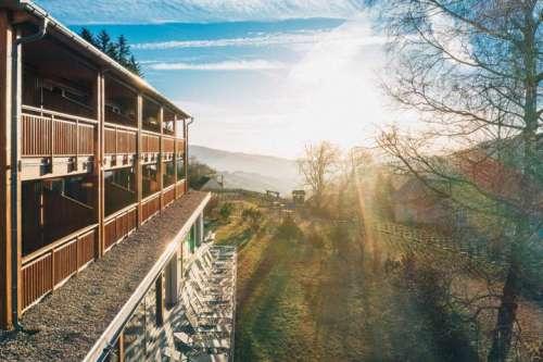 Das Naturhotel Bauernhofer im Sommer