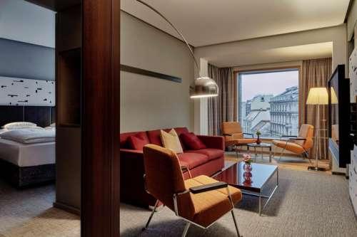 Junior Suite mit Aussicht auf die Stadt im Hotel Das Triest