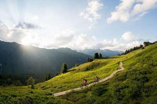 E-Biken in der Silvretta Bergwelt
